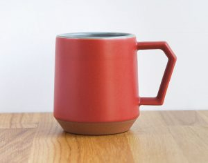 Chips Mug Red Gray