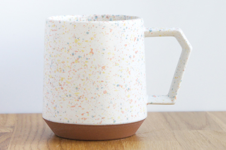 Chips Mug. Splash White-Orange