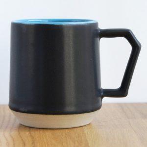 Chips Mug. Two-Tone Black-Sky