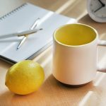 CHIPS MUG. カラー紹介:Two-Tone White-Yellow