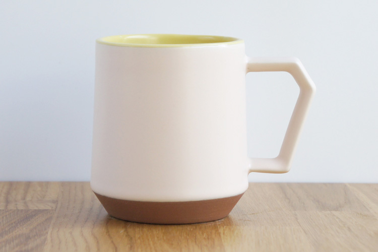Chips Mug. White-Yellow
