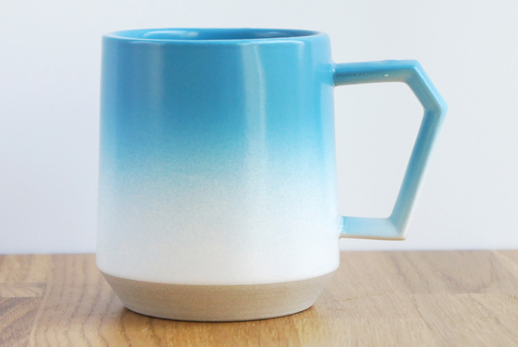 Chips Mug White-Blue Spray