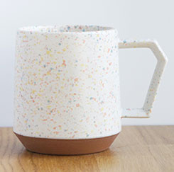 Chips Mug Splash White-Orange