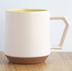 Chips Mug Two-Tone White-Yellow