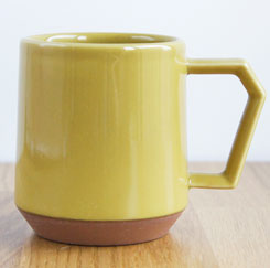 Chips Mug Solid Color Mustard