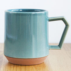 Chips Mug Solid Color D. Green