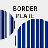 しましまのお皿 Border Plate