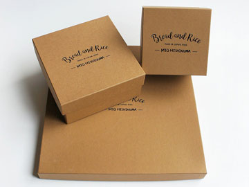 パンとごはんと…の化粧箱 Box Of Bread and Rice...