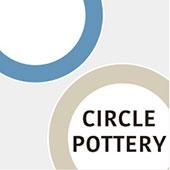 まるい縁取りの陶器 Circle Pottery