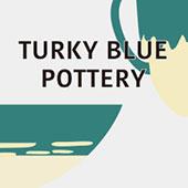 艶トルコ釉の器 Turky Blue Pottery
