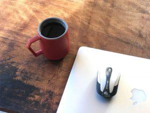 企画書作りのお供にChips Mugとコーヒー
