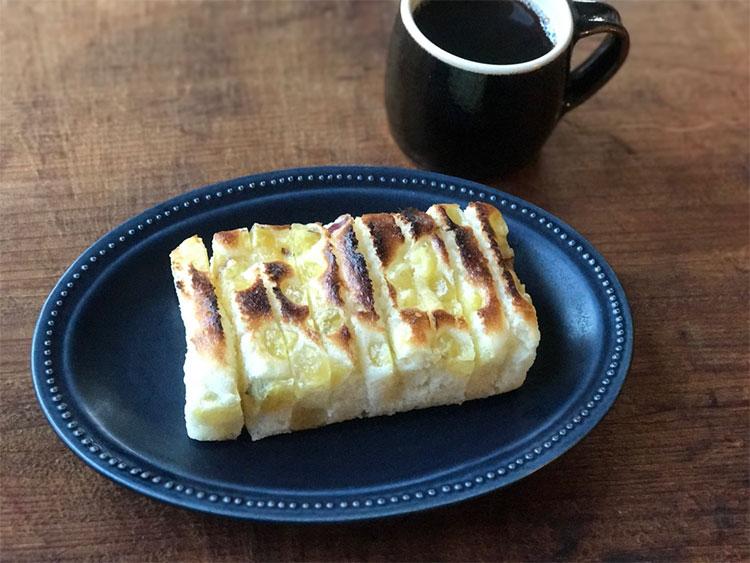 トースター焼蒸しパン