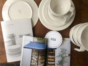 はじまりは白い皿/BBB Potters