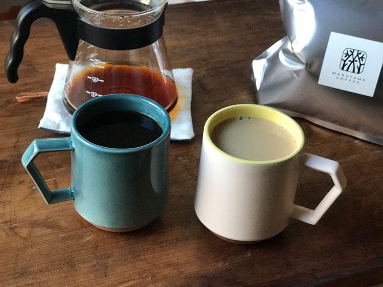 丸山珈琲とChips Mug.
