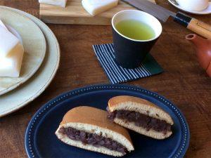 西川口、千奈利のどら焼きとお餅