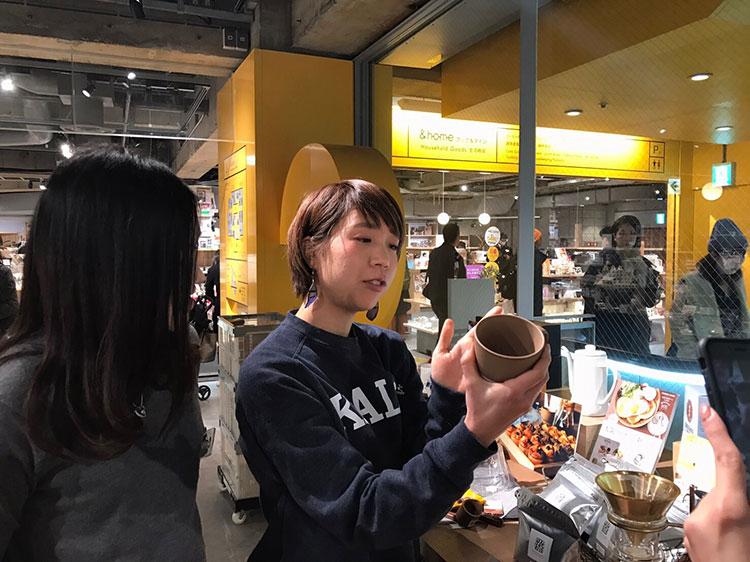渋谷ロフトに菱沼未央さん登場!