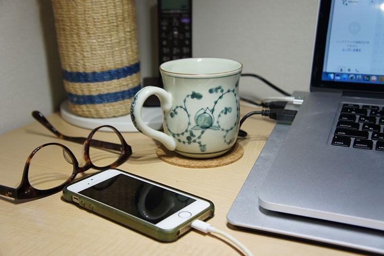 バッチャン焼のマグカップ