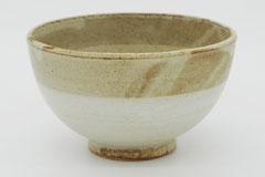 Circle Pottery Rice Bowl まるい縁取りの陶器 ライスボウル