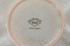 Line Pottery 一本線の白い器 裏印