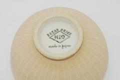 Sgraffito Pottery Rice Bowl 掻き落としの陶器 ライスボウル 裏印