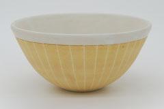 Sgraffito Pottery Bowl 掻き落としの陶器 ボウル