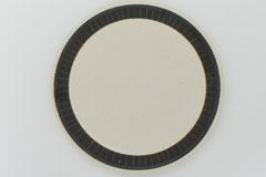 Sgraffito Pottery Plate L 掻き落としの陶器 プレートL
