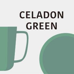 セラドングリーンの器 Celadon Green