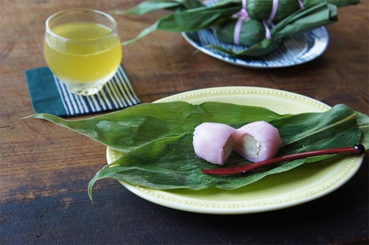桜餅の笹団子