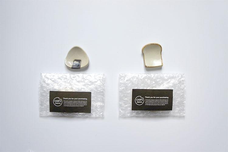 Chips Online Storeの購入特典の箸置き