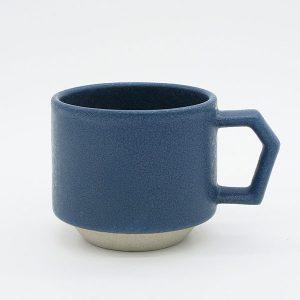 CHIPS stack mug. MAT Sand-Blue [No.CS001bl]