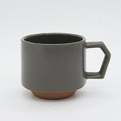 Chips Stack Mug Mat Gray
