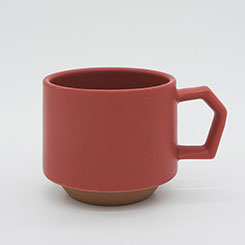 Chips Stack Mug Mat Red