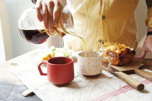 CHIPS stack mug. MAT Red [No.CS001rd]