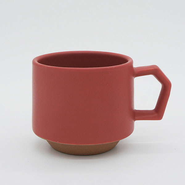 CHIPS stack mug. MAT Red [No.CS001rd]