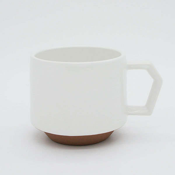CHIPS stack mug. SOLID COLOR White [No.CS008]