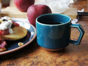 CHIPS stack mug. SOLID COLOR D.Green [No.CS010]