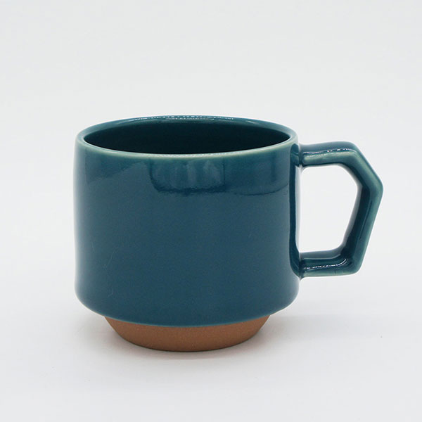 CHIPS stack mug. SOLID COLOR D.Green [No.CS010]