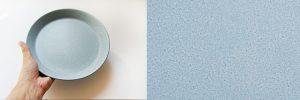Cafe Plate M Blue カフェプレート M ブルー