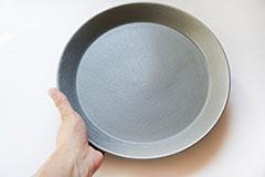 カフェプレート グレー L Cafe Plate Gray L