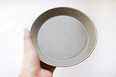 カフェプレート グレー S Cafe Plate Gray S