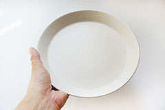 カフェプレート ホワイト M Cafe Plate White M