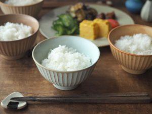 しのぎの茶碗 Faceted Rice Bowl