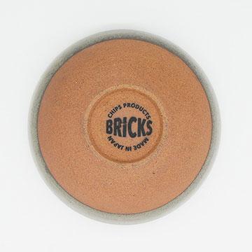 Bricks Gray Bowl ブリックス グレー ボウル 裏印