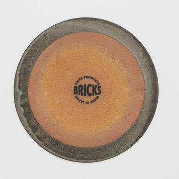 Bricks Gray Plate S ブリックス グレー プレートS 裏印