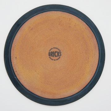 Bricks Navy Plate L ブリックス ネイビー プレートL