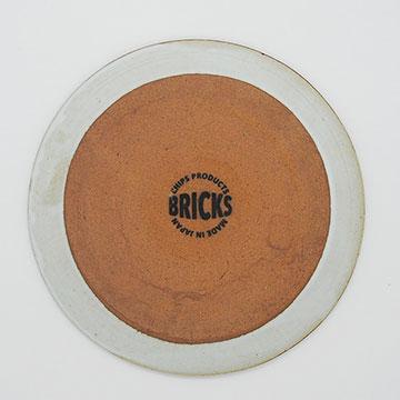 Bricks White Plate S ブリックス ホワイト プレートS 裏印