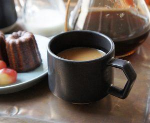 CHIPS stack mug. MAT Black [No.CS001bk]