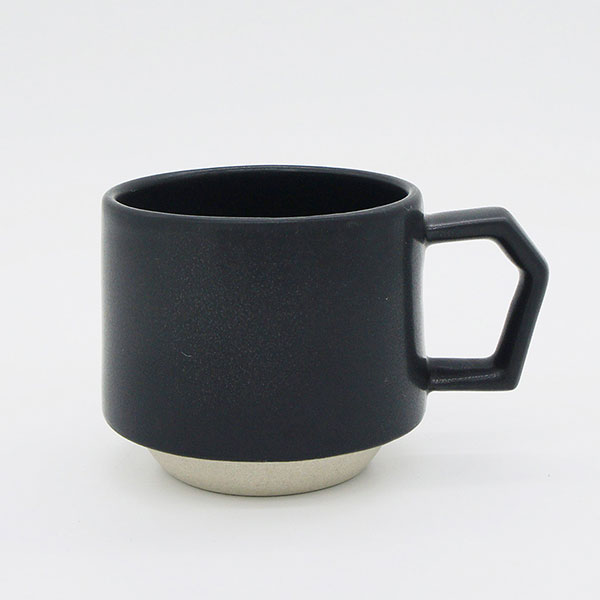 CHIPS stack mug. MAT Black [No.CS001bk]