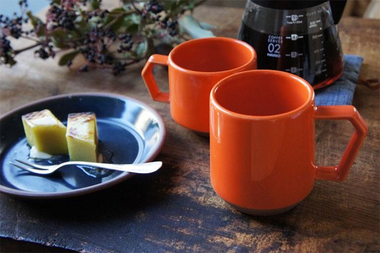 Chips Mugのニューカラーのオレンジ