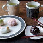 【スタッフのBlog】掻き落としシリーズで和菓子を頂く。